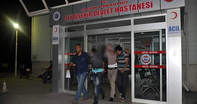 Konya'da çaldıkları otomobille hırsızlık yapan 4 şüpheli yakalandı
