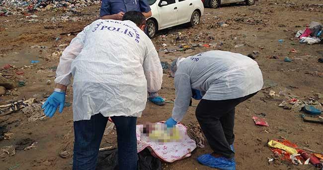Konya'da çöplükte bebek cesedi bulundu