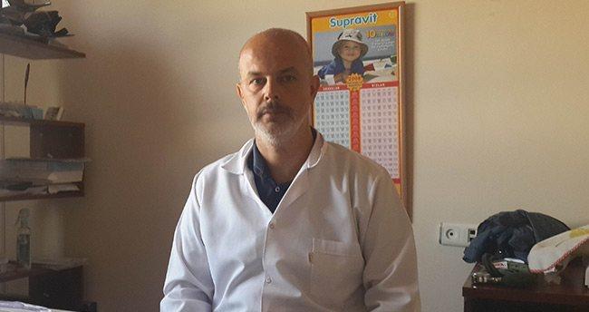 Konya'da Doktora Darp