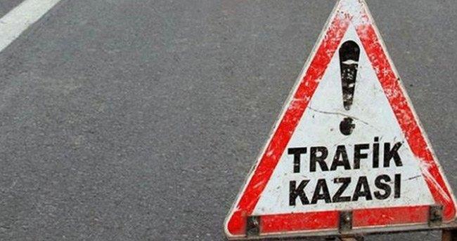 Konya'da minibüs devrildi: 7 yaralı