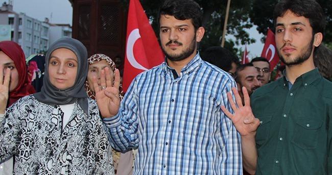 Konya'da Mursi'nin idam kararı protesto edildi