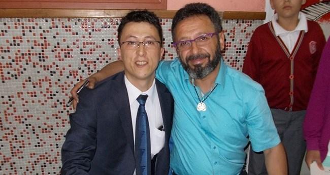 Konya'da Sinan Yağmur öğrencilerle buluştu