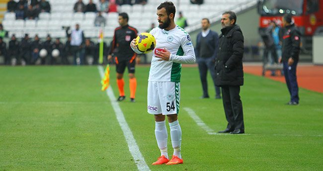 Konyaspor'da en çok Uslu oynadı
