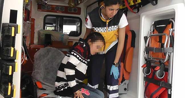 Kulu'da elektrikli bisikletin çarptığı kız çocuğu yaralandı