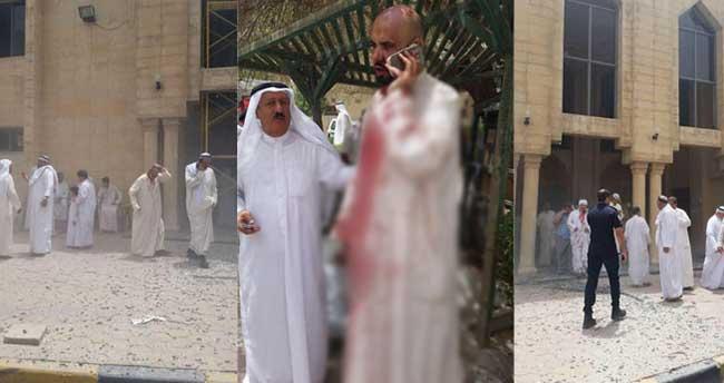 Kuveyt'te camiye bombalı saldırı: En az 5 ölü