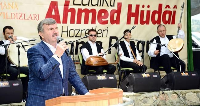 Konya'da Ladikli Ahmet Hüdai Anıldı