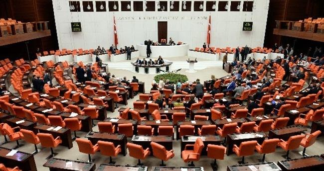 Meclis'te yemin töreni başladı