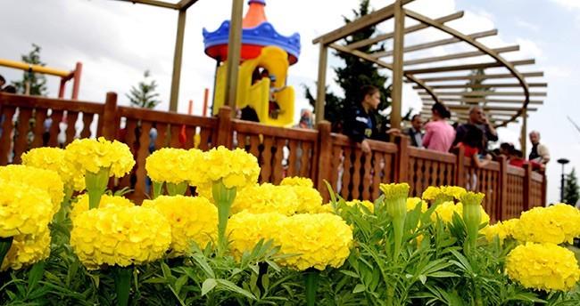 Meram'da Çiçeklendirme Çalışmaları