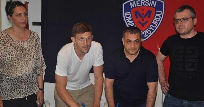 Mersin İdmanyurdu Mitrovic ile yeniden