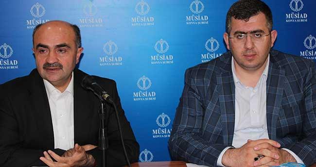 MÜSİAD Konya Şubesi'nde seçim sonuçları konuşuldu