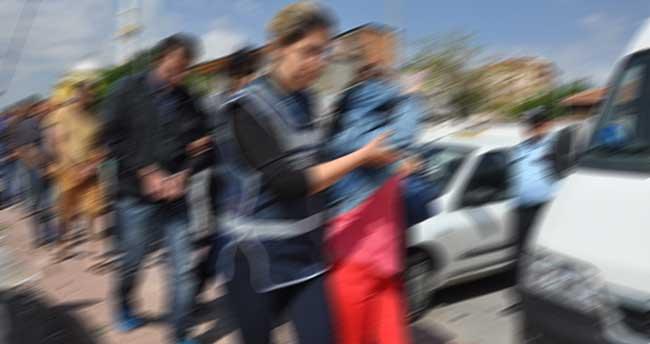Konya'daki 100 bin liralık hırsızlığa 8 gözaltı!
