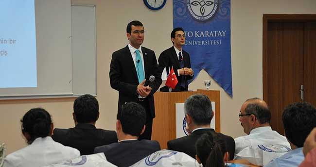 Rehber Öğretmenler KTO Karatay Üniversitesi'nde Buluştu