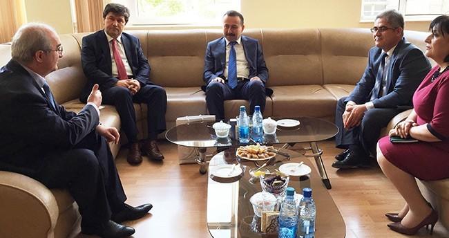 Rektör Gökbel, Azerbaycan'daki Üniversiteleri Ziyaret Etti