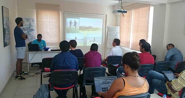 Selçuk'ta Afrika Ülkeleri için Sualtı Arkeolojisi Eğitimi