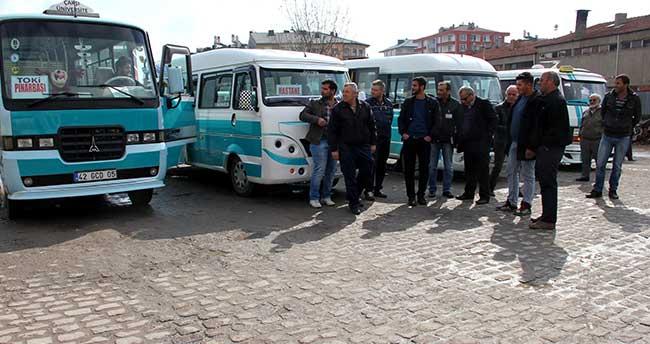 Seydişehir'de servis araçları denetlendi