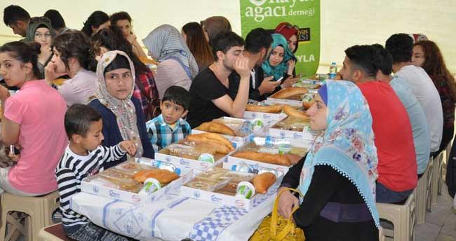 Sivas'ta bin 200 kişi beraber oruç açtı