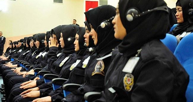 Sivas'ta kadın polisler eğitime başladı!