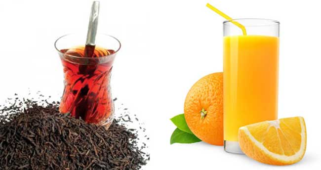 Siyah çay ve portakal suyu yumurtalık kanseri riskini azaltıyor