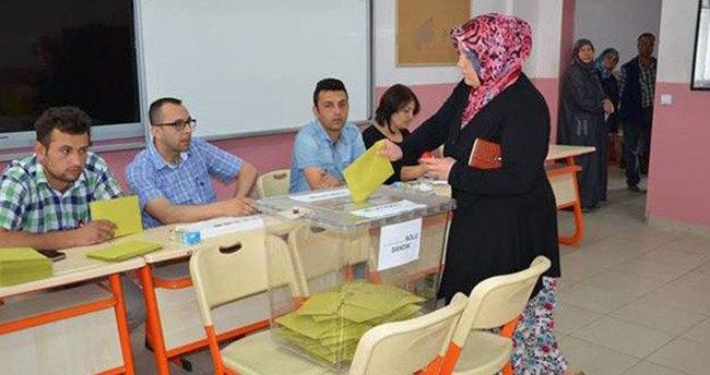 Soma'da birinci parti AK Parti oldu