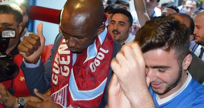 Trabzonspor'un yeni transferi Stephane M'Bia Trabzona Geldi