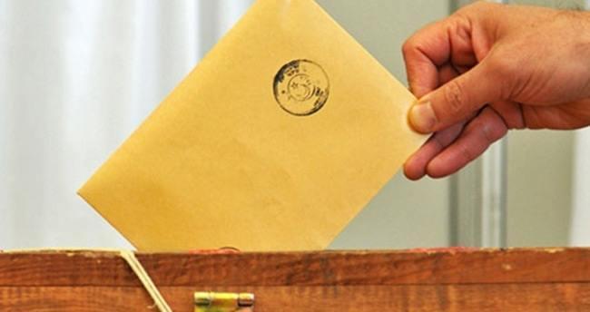 Yurtdışı oy oranları açıkladı