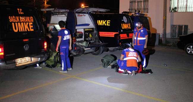 5.5'lik deprem anonsu UMKE ekiplerine ter döktürdü