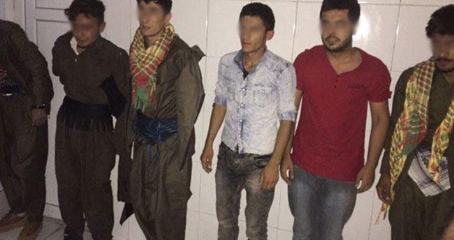6 PKK'lı karakola girmeden yakalandı