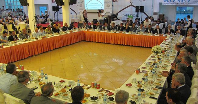 Ankara'daki Konyalılar İftarda Buluştu