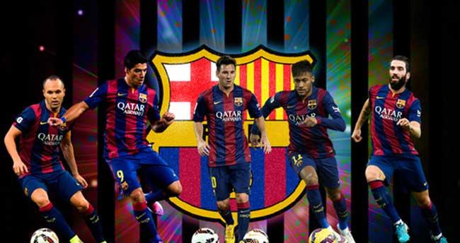 Barça'nın efsanevi beşlisi