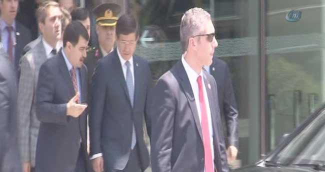 Başbakan Davutoğlu Huber Köşkü'nde