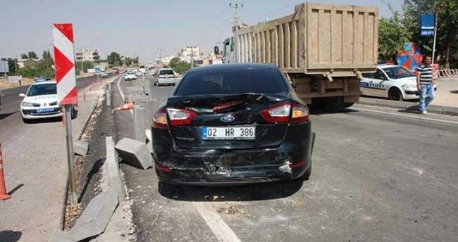 Başbakan'ın konvoyunda kaza: 2 yaralı