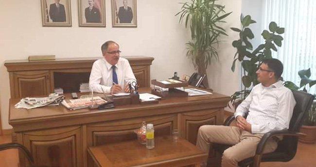 Başkan Olgun'dan Milletvekili Kalaycı'ya ziyaret