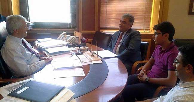 Başkan Özgüven'den Ereğli'ye AÖF Bürosu Talebi