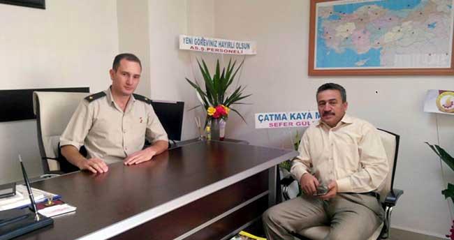 Başkan Tutal'dan Askerlik Şubesi Başkanına Ziyaret