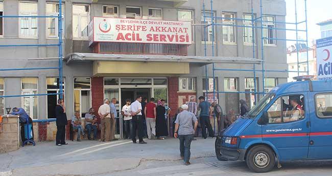 Beyşehir'de dut ağacından düşen kişi öldü