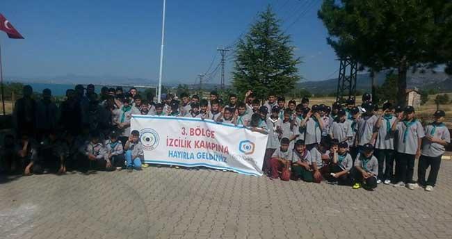 Beyşehir'de izcilik kampı