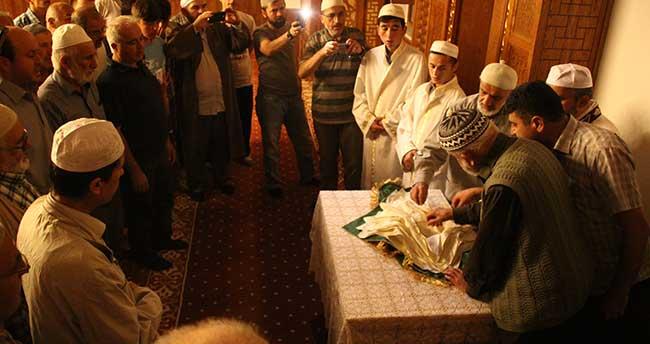 Bozkır Saadet Camisi'nde Sakal-ı Şerif ziyareti yapıldı