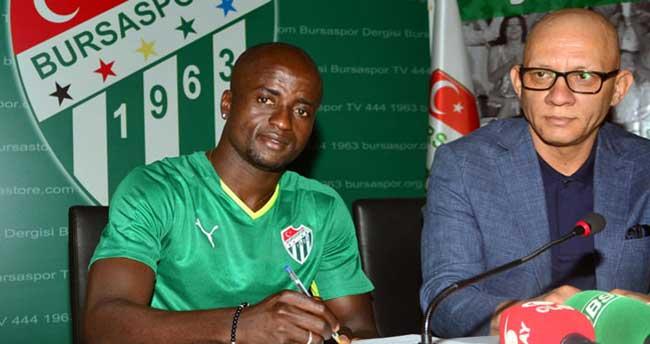 Bursaspor, Dany ile sözleşme imzaladı