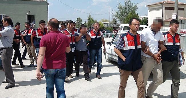 DAEŞ operasyonunda 5 tutuklama