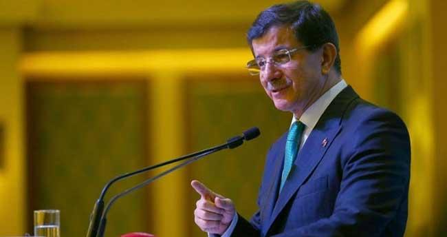 Davutoğlu: 'Siyaseti kanla kirlettiğiniz yeter'