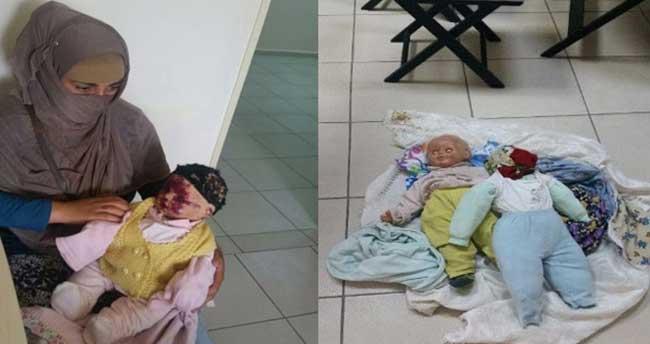 Dilenciden oyuncak bebekle duygu sömürüsü