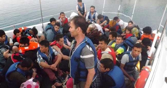 Dört günde 516 sığınmacı kurtarıldı