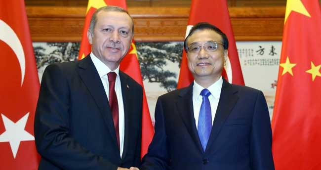 Erdoğan, Çin Başbakanı Keqiang ile görüştü