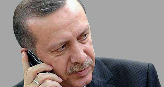 Erdoğan saldırıyla ilgili bilgi aldı