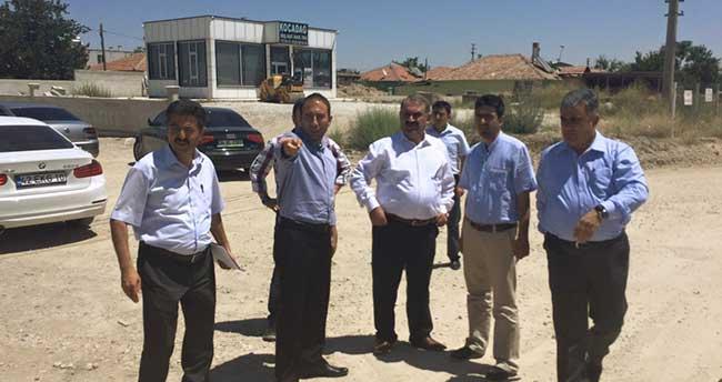 Ereğli'de Türkmen Kavşağında İncelemeler Devam Ediyor