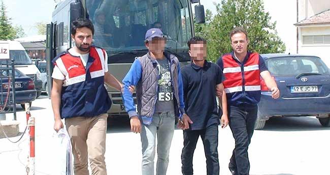 Ereğli'deki hırsızlık operasyonunda 5 tutuklama
