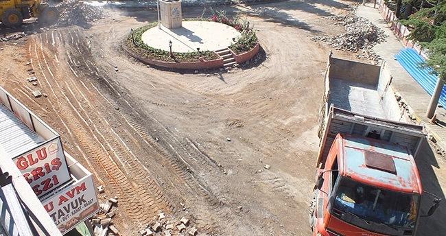 Hadim'de içme suyu hattı yenileniyor