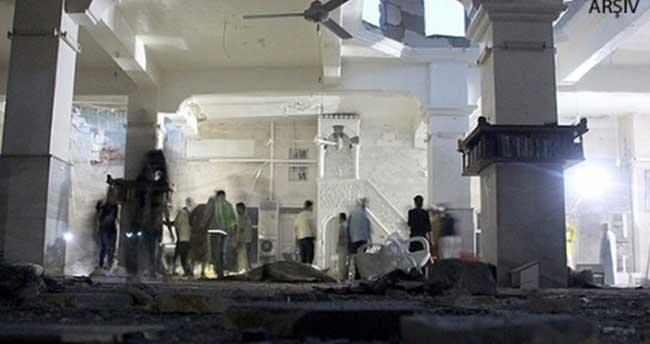 Halep'te camiye 'varil bombası' atıldı