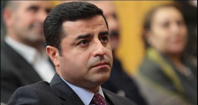 HDP Eş Genel Başkanı Demirtaş, mal bildiriminde bulundu