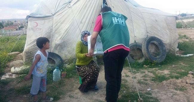 İHH'den Konya ilçelerine bin 250 gıda kolisi yardımı yapıldı